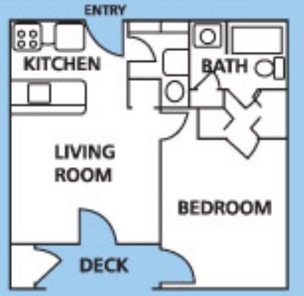1 & 2 Bedroom Apartments $665 - $805 Morgantown WV