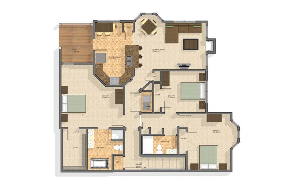 2 Bedroom Townhomes $1725 - $1765 Morgantown WV